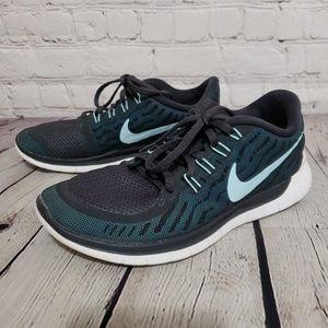 Women's Nike Free 5.0 Running Shoes sz 7.5